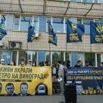 Нацкорпус вийшов проти корупції Кличка та Брагінського на метро